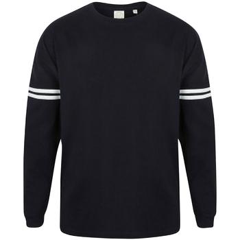 Abbigliamento Felpe Skinni Fit SF514 Bianco/Blu Oxford