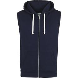 Abbigliamento Uomo Gilet / Cardigan Awdis Hoods Blu Oxford