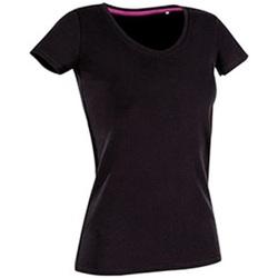 Abbigliamento Donna T-shirt maniche corte Stedman Stars Claire Nero