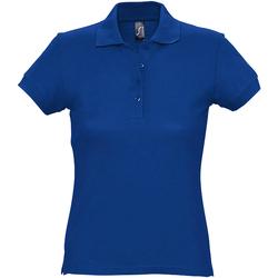 Abbigliamento Donna Polo maniche corte Sols 11338 Blu reale