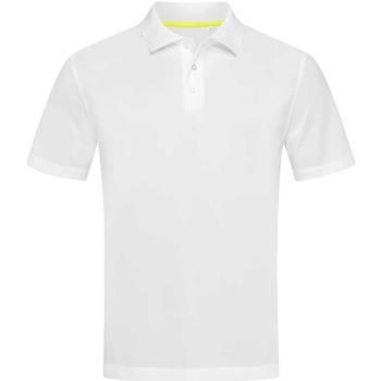 Abbigliamento Uomo Polo maniche corte Stedman  Bianco