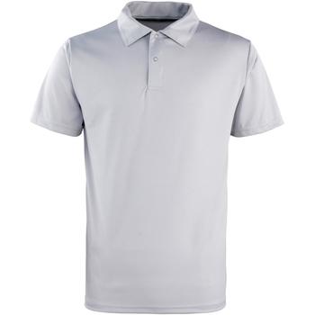 Abbigliamento Polo maniche corte Premier PR612 Argento