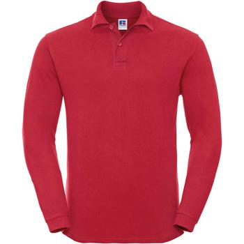 Abbigliamento Uomo Polo maniche lunghe Russell 569M Rosso