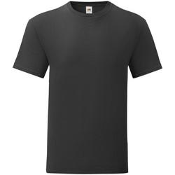 Abbigliamento Uomo T-shirt maniche corte Fruit Of The Loom 61430 Nero