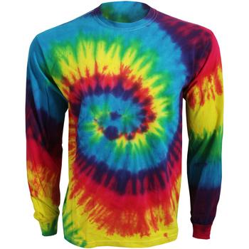Abbigliamento T-shirts a maniche lunghe Colortone TD15M Arcobaleno