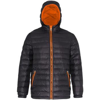 Abbigliamento Uomo Piumini 2786 TS016 Nero/Arancio