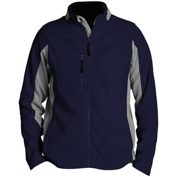 Abbigliamento Uomo Felpe in pile Sols 55500 Blu Navy/Grigio Medio