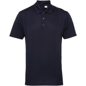 Abbigliamento Uomo Polo maniche corte Tridri TR012 Blu Francia