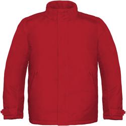 Abbigliamento Uomo giacca a vento B And C Real+ Rosso scuro