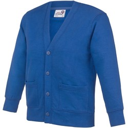 Abbigliamento Unisex bambino Gilet / Cardigan Awdis Academy Blu reale