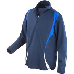 Abbigliamento Donna Giacche sportive Spiro S178X Blu navy/Blu reale/Bianco