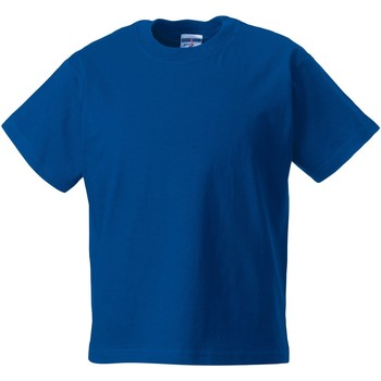 Abbigliamento Unisex bambino T-shirt maniche corte Jerzees Schoolgear ZT180B Blu reale acceso