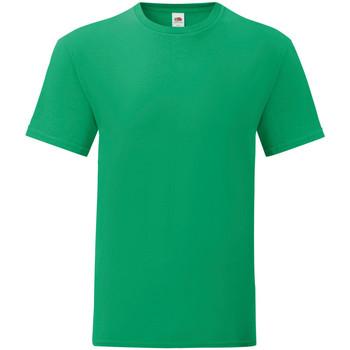 Abbigliamento Uomo T-shirt maniche corte Fruit Of The Loom 61430 Verde acceso