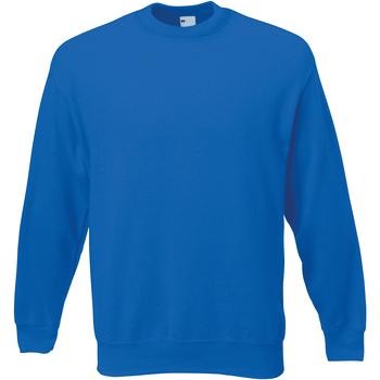 Abbigliamento Uomo Felpe Universal Textiles 62202 Blu cobalto