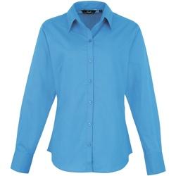 Abbigliamento Donna Camicie Premier PR300 Zaffiro