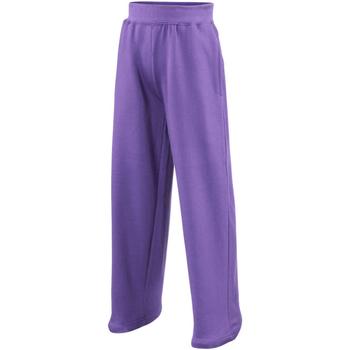 Abbigliamento Unisex bambino Pantaloni morbidi / Pantaloni alla zuava Awdis  Viola