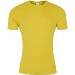 Abbigliamento Uomo T-shirt maniche corte Awdis JC020 Giallo sole