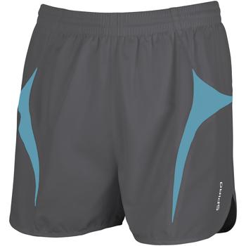 Abbigliamento Uomo Shorts / Bermuda Spiro S183X Grigio/verde acqua