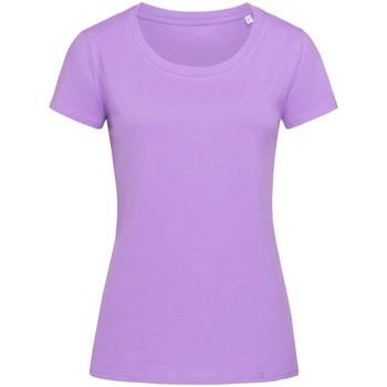 Abbigliamento Donna T-shirt maniche corte Stedman Stars  Lavanda