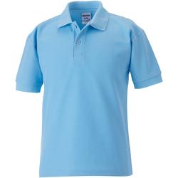 Abbigliamento Bambino Polo maniche corte Jerzees Schoolgear 539B Azzurro cielo