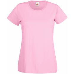Abbigliamento Donna T-shirt maniche corte Universal Textiles 61372 Rosa pastello