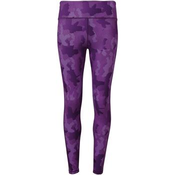 Abbigliamento Donna Leggings Tridri TR032 Mimetico/Viola