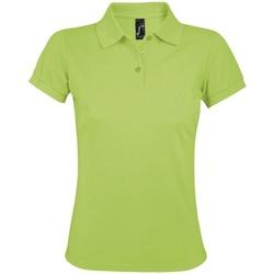 Abbigliamento Donna Polo maniche corte Sols 10573 Verde
