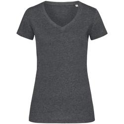 Abbigliamento Donna T-shirt maniche corte Stedman Stars  Carbone screziato
