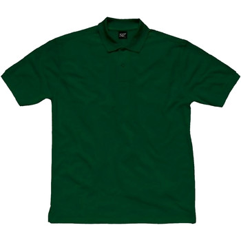 Abbigliamento Donna Polo maniche corte Sg SG50F Verde bottiglia