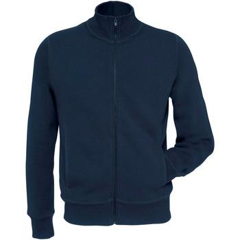 Abbigliamento Uomo Felpe B And C WM646 Blu navy