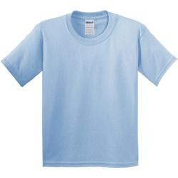 Abbigliamento Unisex bambino T-shirt maniche corte Gildan 5000B Azzurro