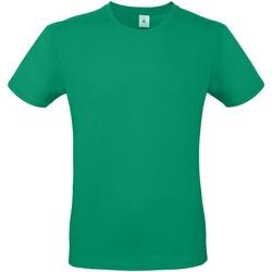 Abbigliamento Uomo T-shirt maniche corte B And C TU01T Verde kelly