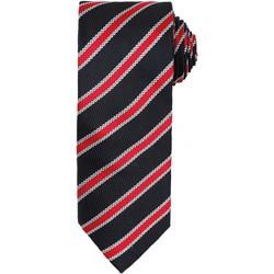 Abbigliamento Uomo Cravatte e accessori Premier  Nero/Rosso