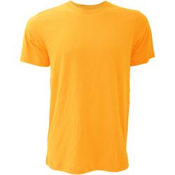 Abbigliamento Uomo T-shirt maniche corte Bella + Canvas CA3001 Giallo