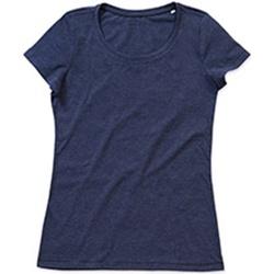 Abbigliamento Donna T-shirt maniche corte Stedman Stars Lisa Blu scuro screziato