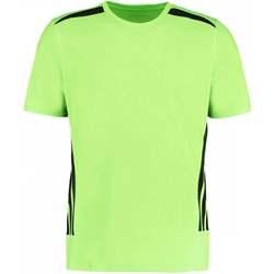 Abbigliamento Uomo T-shirt maniche corte Gamegear KK930 Lime fluorescente/Nero