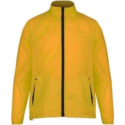 Abbigliamento Uomo giacca a vento 2786 TS011 Ambra/Nero