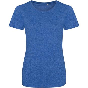 Abbigliamento Donna T-shirt maniche corte Awdis JT30F Blu real/Bianco