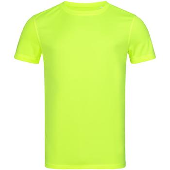 Abbigliamento Uomo T-shirt maniche corte Stedman Mesh Giallo
