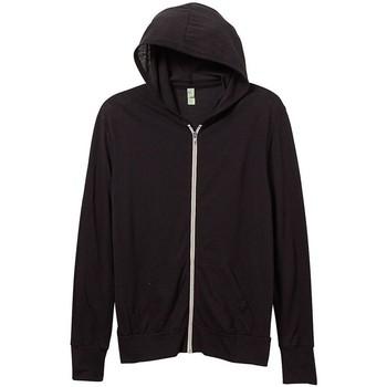 Abbigliamento Uomo Felpe Alternative Apparel AT002 Nero eco