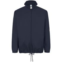 Abbigliamento giacca a vento Sols 01618 Blu Navy