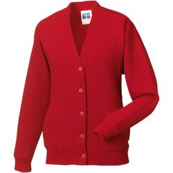 Abbigliamento Unisex bambino Gilet / Cardigan Jerzees Schoolgear 273B Rosso