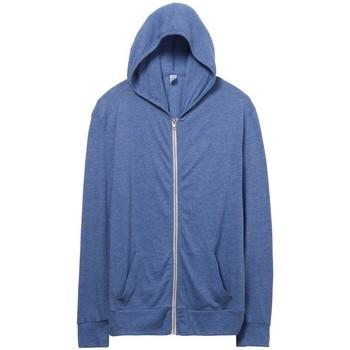 Abbigliamento Uomo Felpe Alternative Apparel AT002 Blu Pacifico