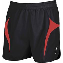 Abbigliamento Uomo Shorts / Bermuda Spiro S183X Nero/Rosso