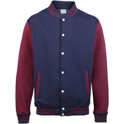 Abbigliamento Unisex bambino Giubbotti Awdis JH43J Blu navy/Bordeaux