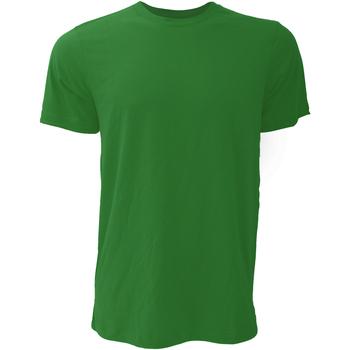 Abbigliamento Uomo T-shirt maniche corte Bella + Canvas CA3001 Verde foresta