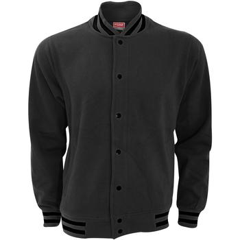 Abbigliamento Uomo Giubbotti Fdm FV003 Carbone/Nero