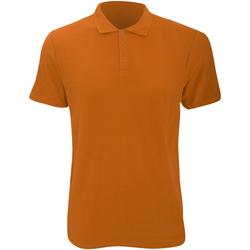 Abbigliamento Uomo Polo maniche corte Anvil 6280 Mandarino