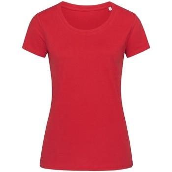 Abbigliamento Donna T-shirt maniche corte Stedman Stars  Rosso
