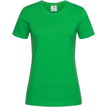Abbigliamento Donna T-shirt maniche corte Stedman  Verde kelly